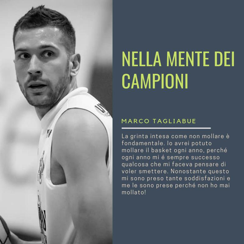 Marco Tagliabue Nella Mente dei Campioni