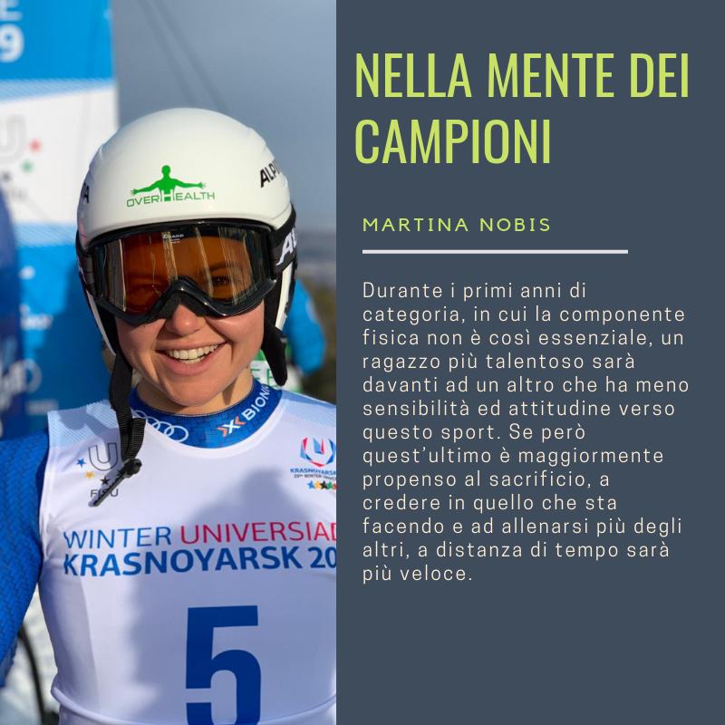 Martina Nobis Nella Mente dei Campioni